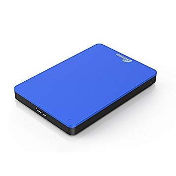 Sonnics 320GB Azul Disco duro externo portátil de Velocidad de transferencia ultrarrápida USB 3.0 para PC Windows