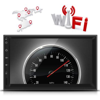 Doble Din Universal Gps Navegador Reproductor Multimedia Para Coche Leshp 7 Android