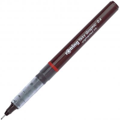 Rotring Tikky Graphic bolígrafo de punta de fibra de 0
