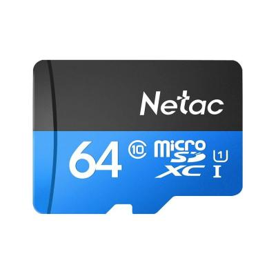 Docooler Netac P500 Clase 10 16G 32G 64G 128G Micro SDHC TF Tarjeta de Memoria Flash Almacenamiento de Datos UHS-1 de Alta Velocidad hasta 80 MB s